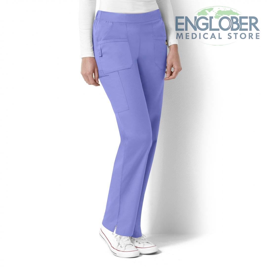 pantaloni medicali dama flat front and back elastic